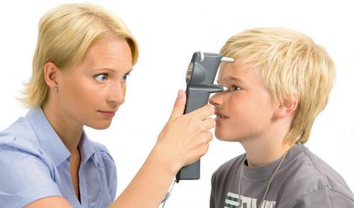 醫療院所,快速量測病患眼壓